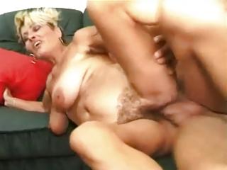 blond mommy