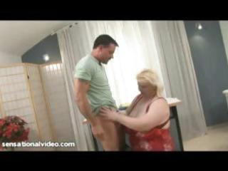 giant tit euro mamma loves to fuck youthful wang