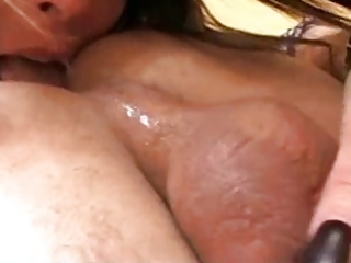 Dirty mature takes care of my ass and cock by troc