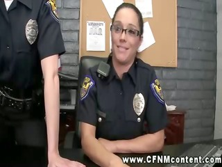 lustful female cops abuse their force over