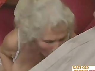 scottish old granny gets screwed