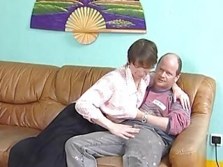 older german spreads her legs
