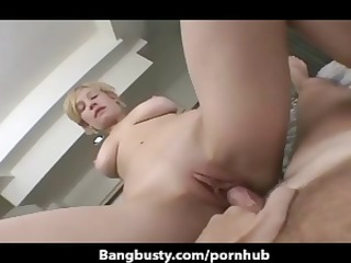 breasty golden-haired honey tina acquires her ass