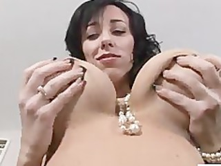 bigtit alia janine pantyhose pussy play