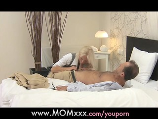 mommy blonde busty mother i has multiple orgasms