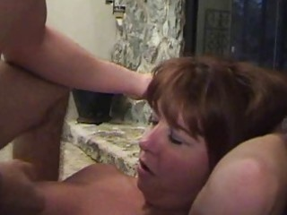 breasty redhead momma in darksome stockings