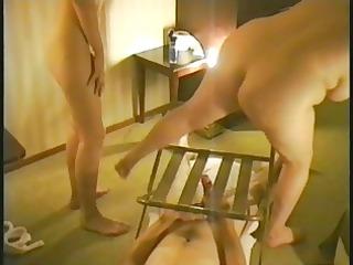 british chunky in threesome