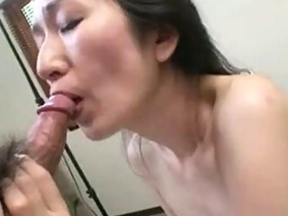 aged japanese nobue toyoshima craves her body