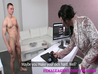 femaleagent hd dude falls at the final hurdle