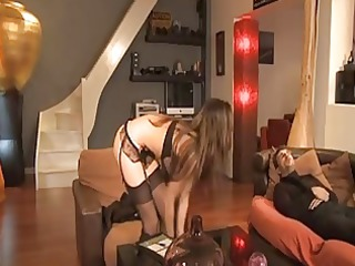 french maid lola bruna analised by her boss a81