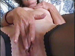 aged big lipped wet crack fingering