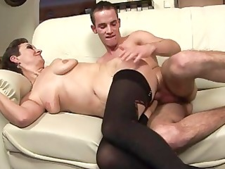 sexy mother i takes a young stud in her face hole