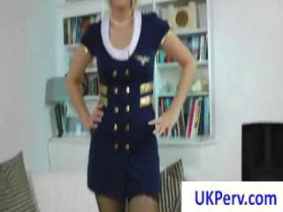 sexually excited mature blond uk stewardess