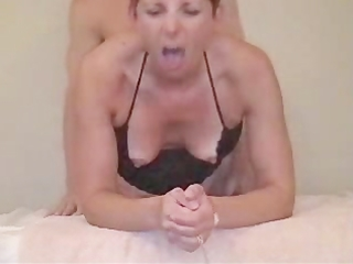 Mature first assfuck