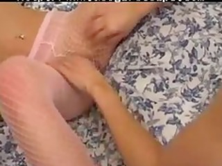 d like to fuck and juvenile belt on lesbo girl on