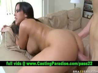 diamond kitty brunette anal fucking and receives