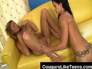 big love bubbles brunette hair lesbo slut licks a