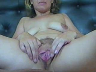 older pussy(close-up view)-first stretch and then