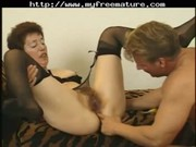 curly mature