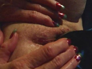 old dilettante older wife dark dildo masturbation