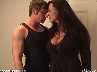 lisa ann bonks youthful muscled chap