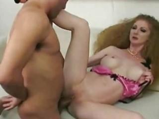 Flexible mature bitch ass fuck
