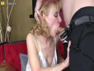 grandmother receives fucked by her toyboy