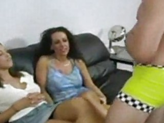 cfnm mommy give daughter stripper to blow