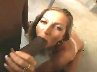 horny housewife sucks darksome penis pov