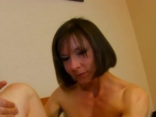 french brunette hair milf pounded doggystyle