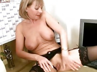 older office stocking rub