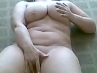 wife playing on webcam phone