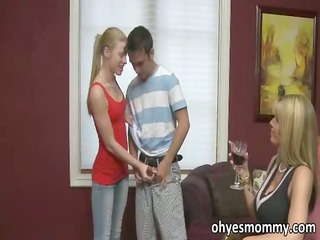 sexy and horny stepmom says she is can get the
