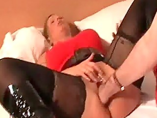 blonde d like to fuck brutally fisted by a