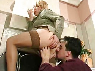older blonde acquire boned by horny guy