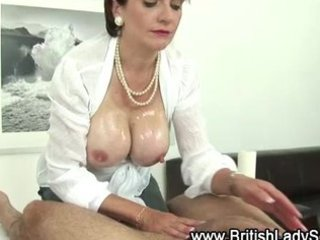 tit job loving aged slut