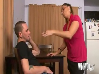 Hot Milf Aunt , mature milf blowjob cumshot