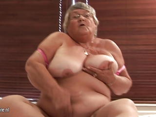 old non-professional granny masturbate on web