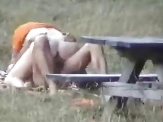 Fucking mother outdoor spy cam