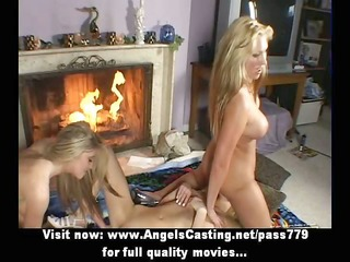 lesbo blondes in some with 77 and toying and