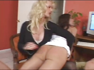 mama spanks and takes rt of 0 nasty daughters 9