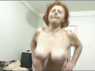 breasty hirsute granny can knob