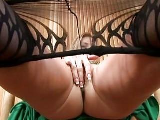 hot mother i in hose undresses and masturbates