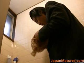 japanese woman is kinky and older part0