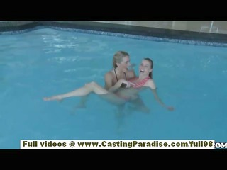 nicole ray and bella cole independent lesbian