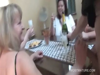 fuckfest with older whores sucking