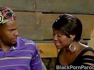 cheating vivian seduces thug in parody
