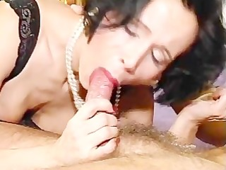 curly cougar gets fully serviced