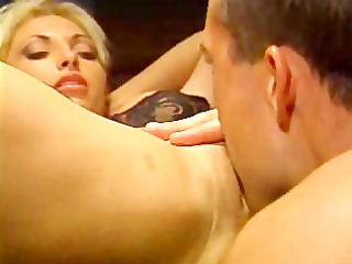 hot blonde drilled at police station