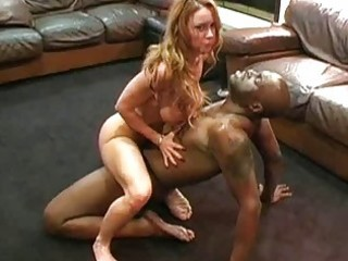 Sexy mature amateur housewife and her black lover
